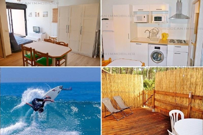 Alquiler vacaciones  casa Lacanau ocean 324€ - Fotografía 1