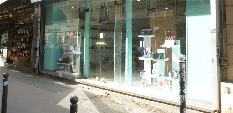 Commercial property sale shop Paris 11ème 135 000€ - Picture 2