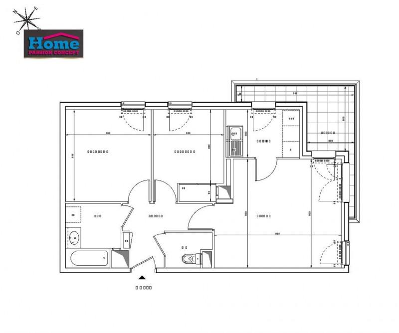 Sale apartment Rueil malmaison 394000€ - Picture 2