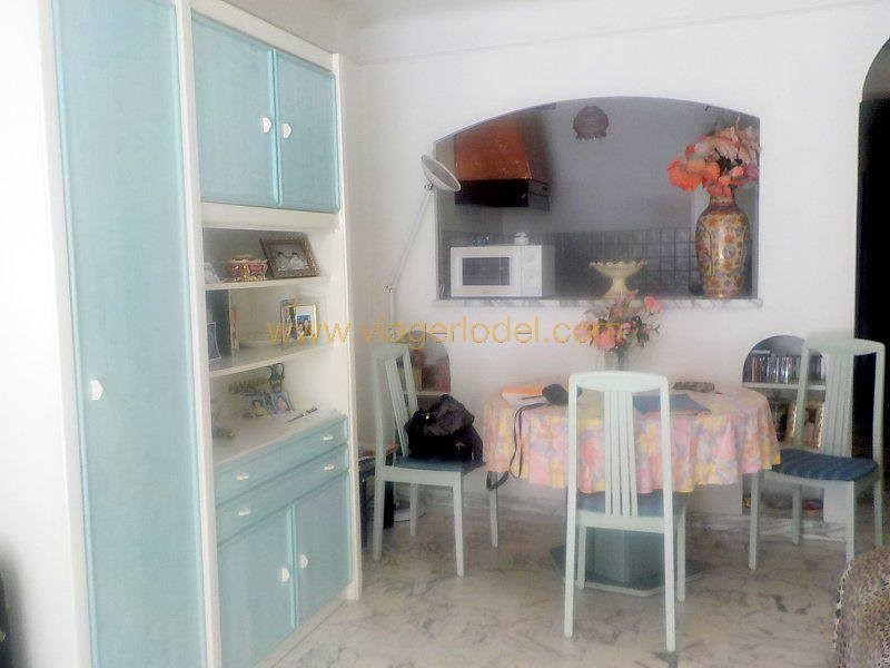 Life annuity apartment Juan-les-pins 55 000€ - Picture 4