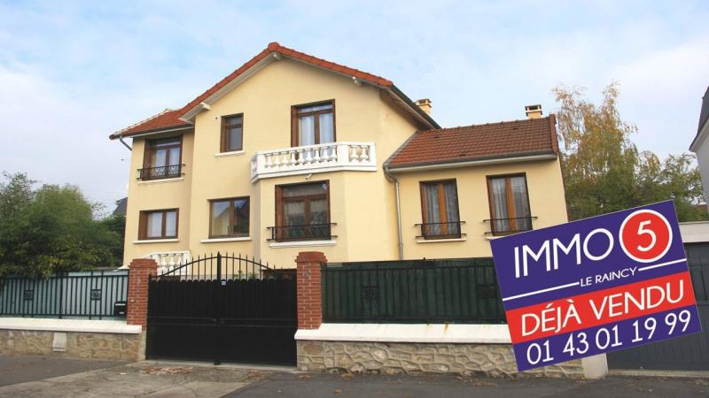 Sale house / villa Le raincy 424999€ - Picture 1