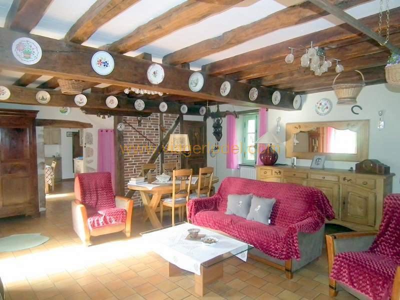 Lijfrente  huis Crechy 99000€ - Foto 9