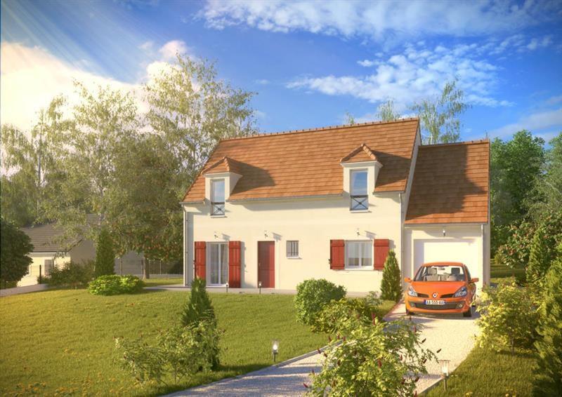 """Modèle de maison  """"Histoire 1.061 CA"""" à partir de 2 pièces Essonne par MAISONS PIERRE"""