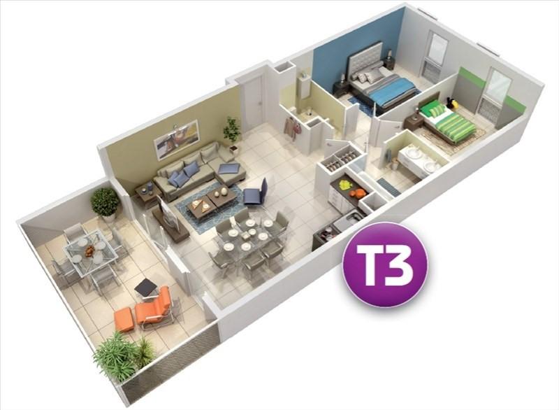 Vente appartement Castelnau le lez 342000€ - Photo 3