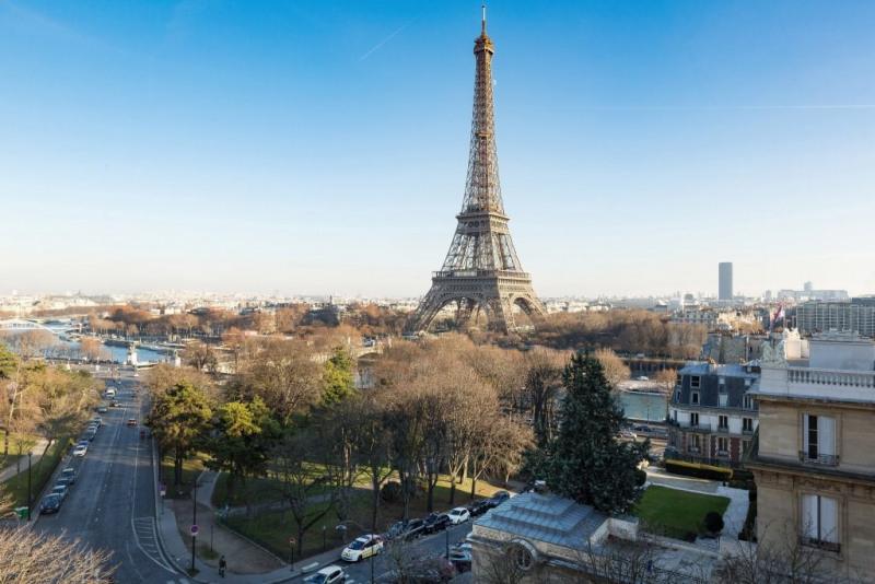 Revenda residencial de prestígio apartamento Paris 16ème 2350000€ - Fotografia 1