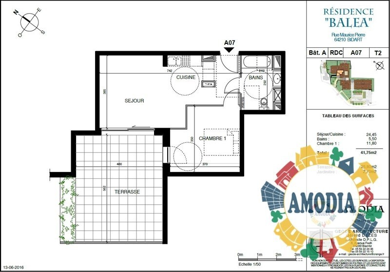 Vente appartement Bidart 237000€ - Photo 3