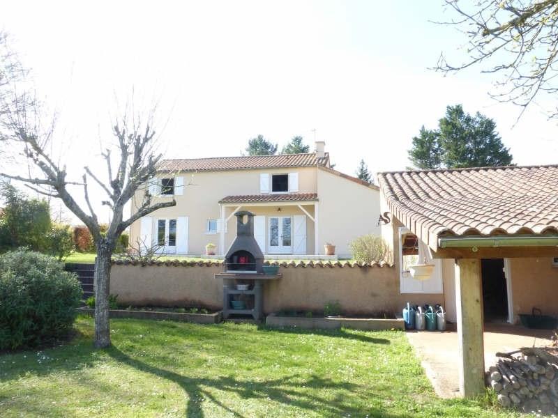 Vente maison / villa Roches premarie andille 269000€ - Photo 1