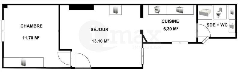 Vente appartement Levallois perret 315000€ - Photo 5