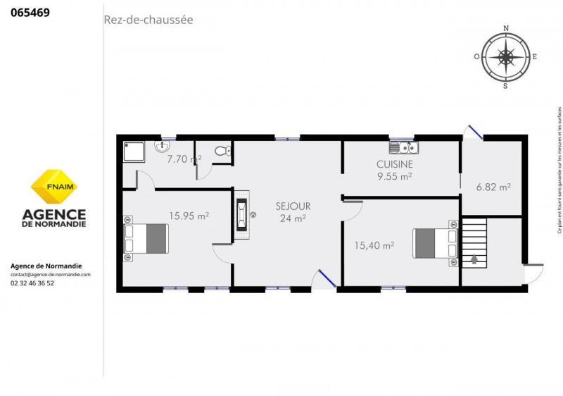 Vente maison / villa Montreuil-l'argille 65000€ - Photo 3