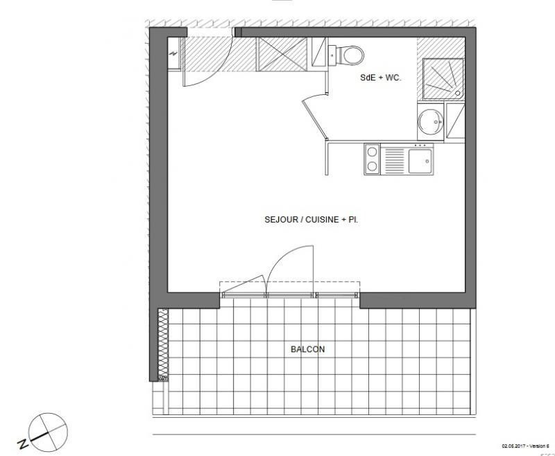 Vente appartement Montpellier 122000€ - Photo 3