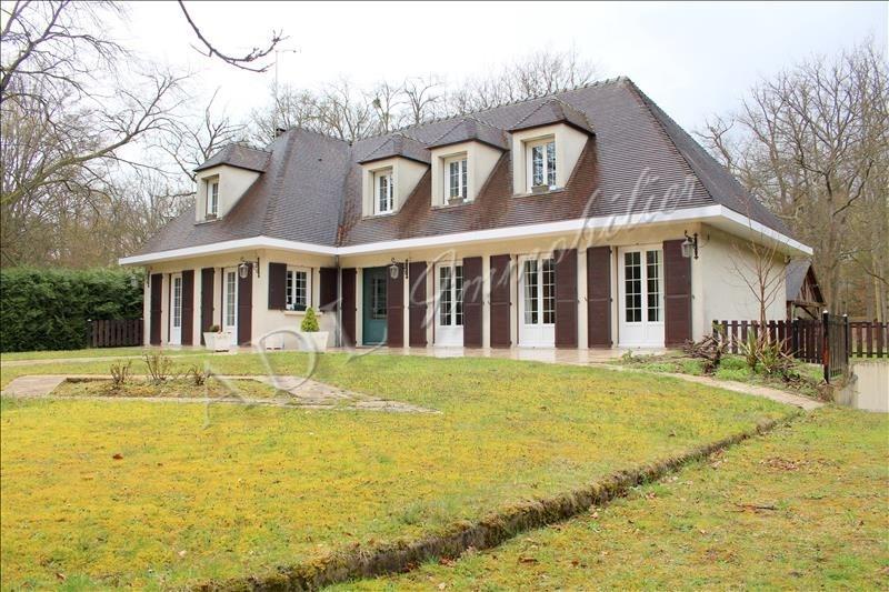 Deluxe sale house / villa Lamorlaye 603200€ - Picture 1