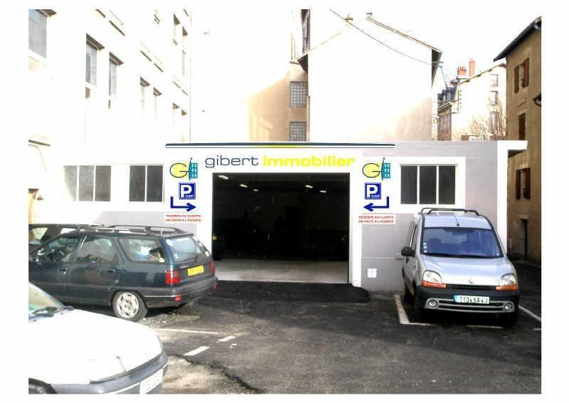 Rental parking spaces Le puy en velay 40€ CC - Picture 1
