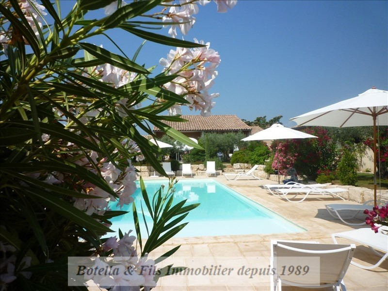 Deluxe sale house / villa Goudargues 1 265 000€ - Picture 3