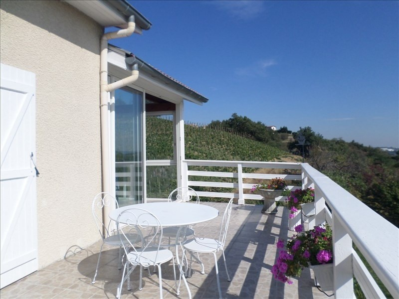 Sale house / villa St cyr sur le rhone 375000€ - Picture 1