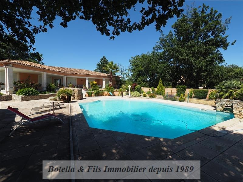 Verkoop van prestige  huis Uzes 585000€ - Foto 13