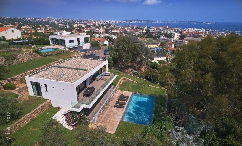 Vermietung von ferienwohnung wohnung Le golfe juan 5400€ - Fotografie 8