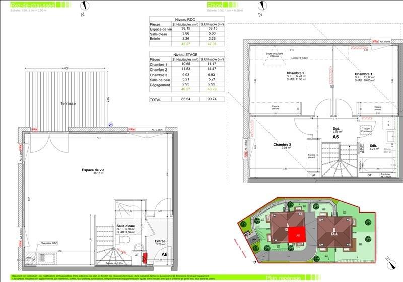 Sale apartment Vetraz monthoux 341500€ - Picture 2