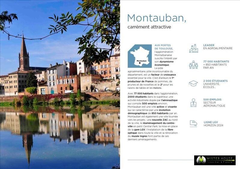 Verkoop  appartement Montauban 144500€ - Foto 5