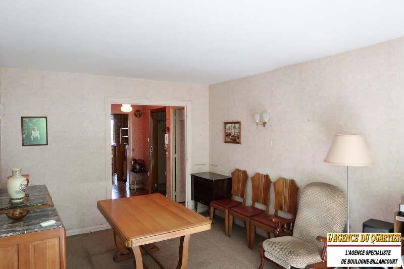 Venta  apartamento Boulogne billancourt 414000€ - Fotografía 1