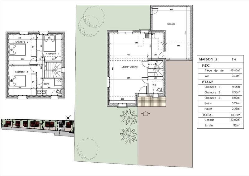 Sale house / villa Bourgoin jallieu 255000€ - Picture 2