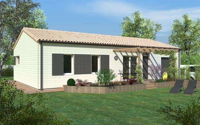 Maison  4 pièces + Terrain 662 m² Ligugé par DELRIEU CONSTRUCTION