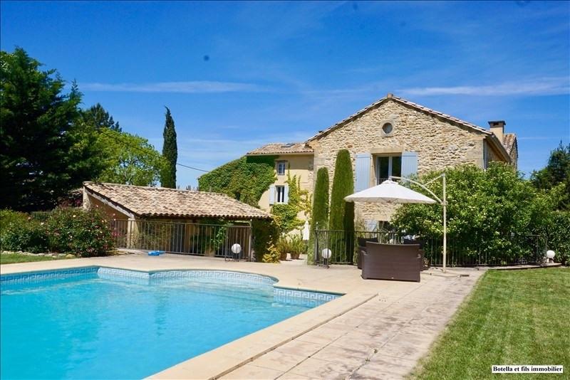 Deluxe sale house / villa Uzes 945000€ - Picture 1