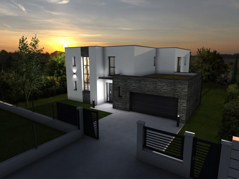 """Modèle de maison  """"Modèle de Maison Moderne à Toit Plat de 6 pièces"""" à partir de 6 pièces Yvelines par Yvelines Tradition"""
