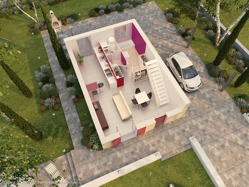 Maison  5 pièces + Terrain 300 m² Chauconin-Neufmontiers par HABITAT PARCOEUR