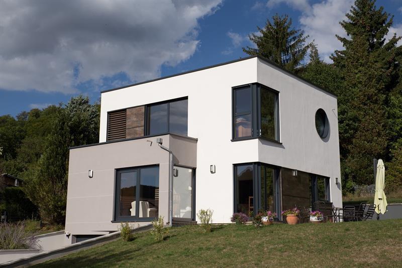 """Modèle de maison  """"Maison personnalisée sur terrain en pente"""" à partir de 5 pièces Meuse par INNOV'HABITAT"""
