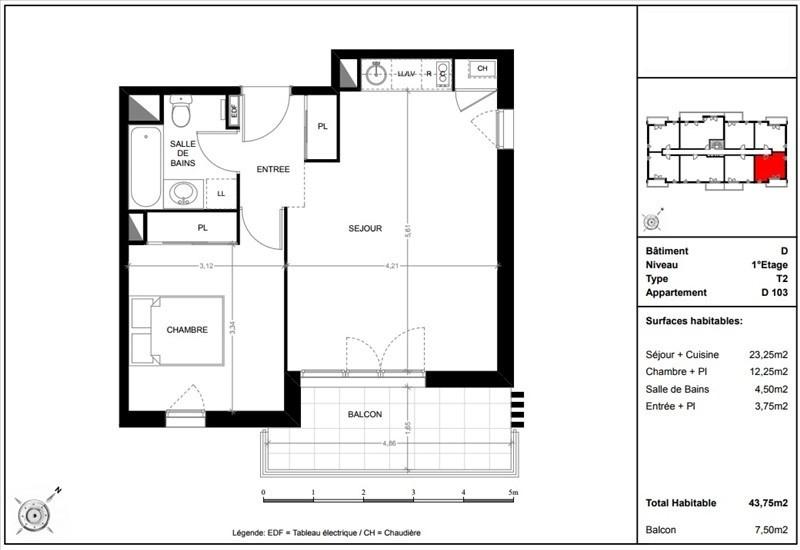 Vente appartement Toulouse 165000€ - Photo 7