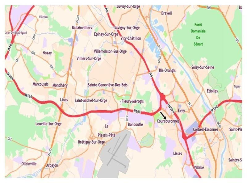 Location Local d'activités / Entrepôt Courcouronnes 0