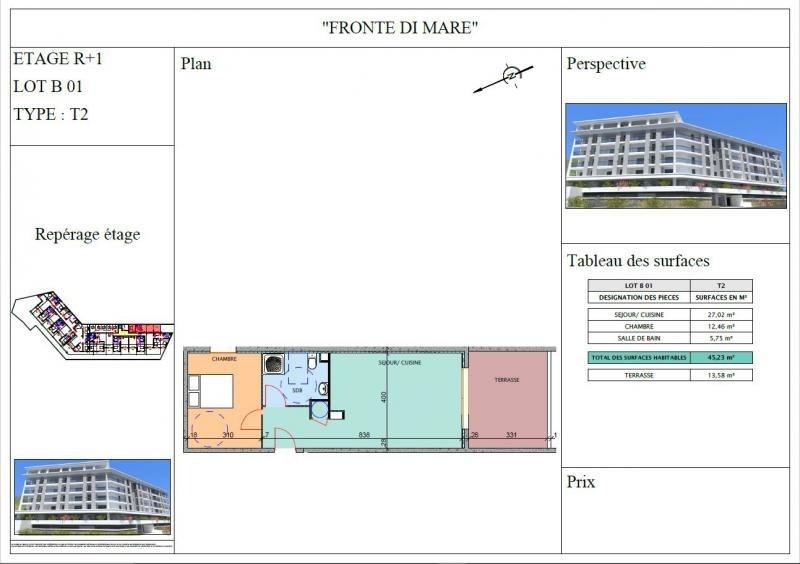 Vente appartement Propriano 165000€ - Photo 2