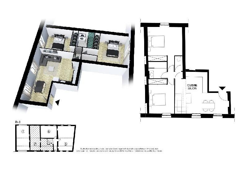 Vente appartement Toulouse 164000€ - Photo 1