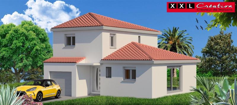 Maison  3 pièces + Terrain 357 m² Cases de Pene par XXL CREATION