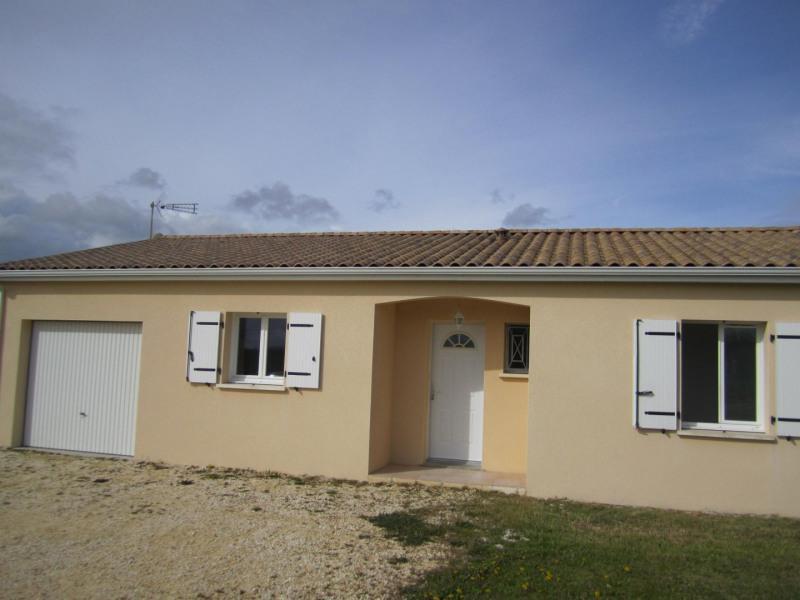 Sale house / villa Barbezieux saint-hilaire 130000€ - Picture 2