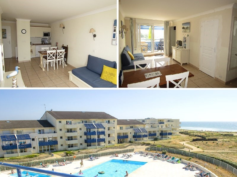Location vacances appartement Lacanau ocean 629€ - Photo 1