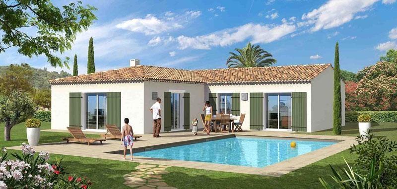 Maison  4 pièces + Terrain 1000 m² Plan d'Orgon par MAISONS AVENIR TRADITION