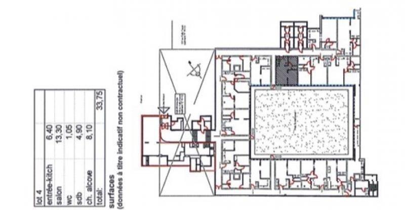 Vente appartement Paris 15ème 365000€ - Photo 1