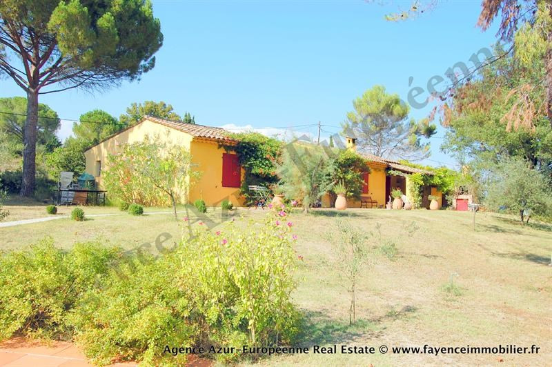 Vente de prestige maison / villa Le canton de fayence 875000€ - Photo 1