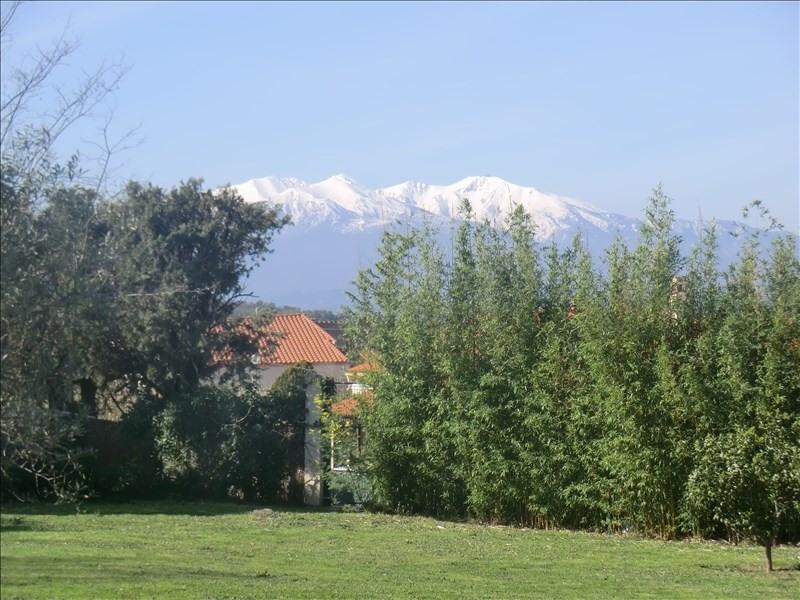 Sale site Villelongue dels monts 199000€ - Picture 1