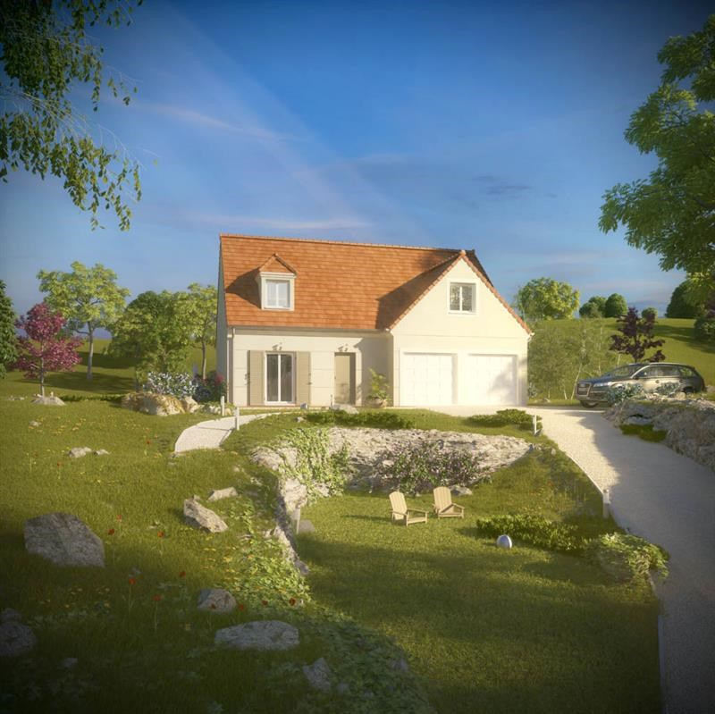 """Modèle de maison  """"Christal 3.128 GI"""" à partir de 5 pièces Val-de-Marne par A&A CONSEIL"""