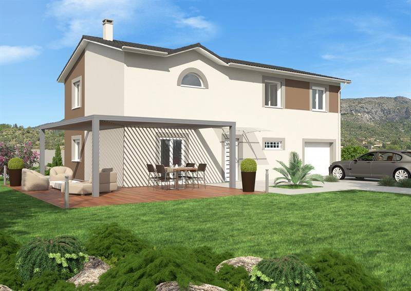 """Modèle de maison  """"Timea"""" à partir de 4 pièces Rhône par LES TOITS DE PROVINCE"""