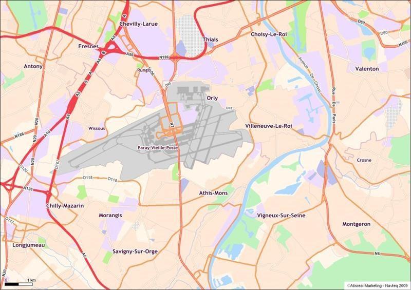 Location Local d'activités / Entrepôt Villeneuve-le-Roi 0