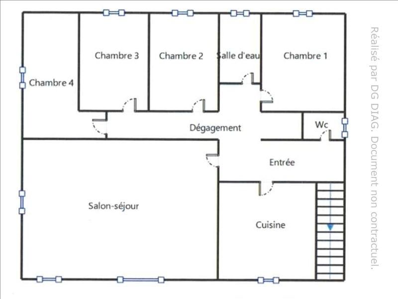 Vente maison / villa Secteur charny 148000€ - Photo 4