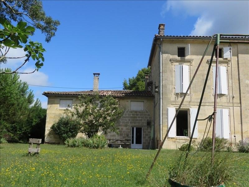 Sale house / villa Porcheres 347000€ - Picture 1