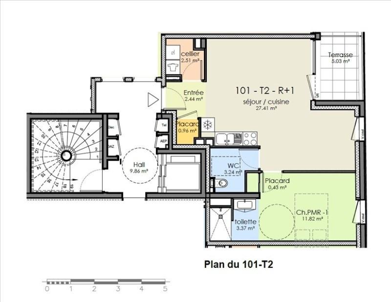 Vente appartement Niort 145190€ - Photo 2