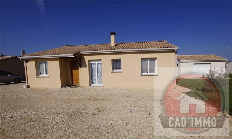 Sale house / villa Lamonzie saint martin 172000€ - Picture 1