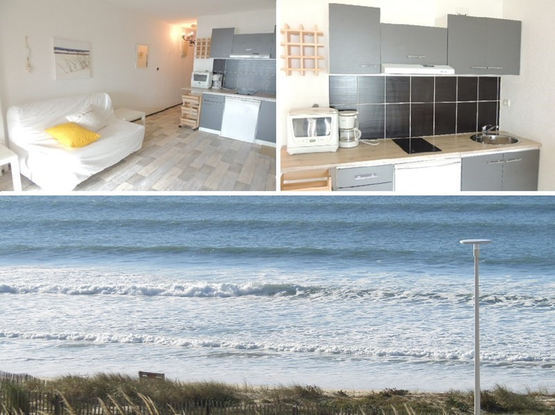 Location vacances appartement Lacanau ocean 285€ - Photo 1