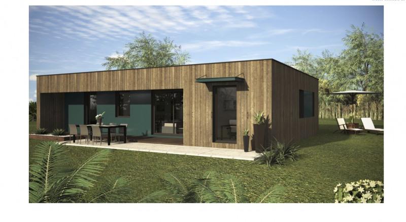 """Modèle de maison  """"Maison ossature bois 91 m² modèle catalogue"""" à partir de 5 pièces Pyrénées-Atlantiques par ID BOIS HABITAT"""
