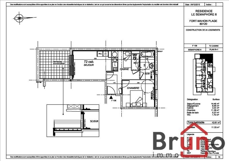 Revenda apartamento Fort mahon plage 176000€ - Fotografia 1